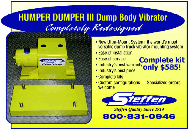 Dump bed vibrator are not