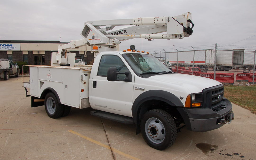 2007 Ford F550 4×4 with 43′ Aerial (MPFP1193) | MPFP1193