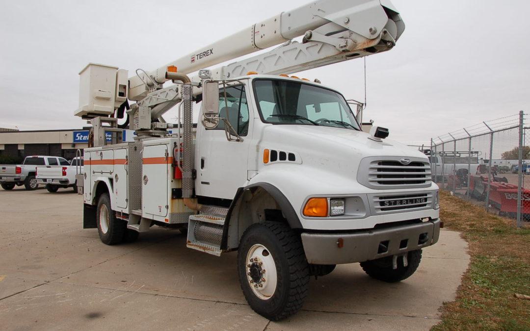 2009 Sterling Acterra 4×4 Material handling Bucket Truck (MPFP1215) | MPFP1215