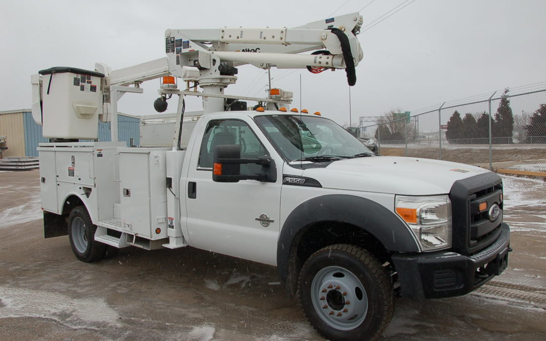 2011 Ford F550 4×4 Aerial Truck (MPFP1269)
