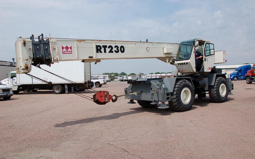 2001 TEREX RT230 30 Ton 94′ Off Road Crane (MPFP1274)