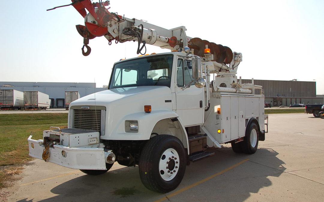 2001 Freightliner 4×4 Digger Derrick Low Mile California Trade (MPFP1303)